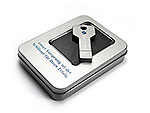 USB-Stick Key-01 Schluessel metall, deckel, USB-Key.01