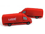 Transport, Logistik, Transporter, Fahrzeug, rot, crafter, CustomModifizierbar, PVC