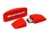 USB Stick, Reifenprofil, Wheel, orange, logo, pvc, felge, autoreifen